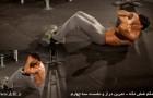تمرین دراز و نشست سه چهارم – شکم شش تکه