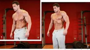تمرین بالا کشیدن شکم – شکم شش تکه
