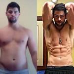 تناسب اندام قبل و بعد شماره 17 دکتر فیت
