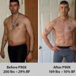 تناسب اندام قبل و بعد شماره 25 دکتر فیت