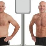 تناسب اندام قبل و بعد شماره 38 دکتر فیت