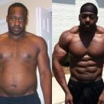 تناسب اندام قبل و بعد شماره 4 دکتر فیت