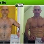 تناسب اندام قبل و بعد شماره 40 دکتر فیت