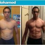 تناسب اندام قبل و بعد شماره 43 دکتر فیت
