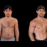 تناسب اندام قبل و بعد شماره 55 دکتر فیت