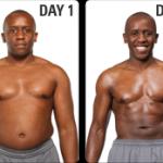 تناسب اندام قبل و بعد شماره 57 دکتر فیت