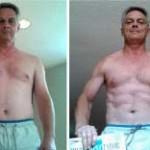 تناسب اندام قبل و بعد شماره 60 دکتر فیت