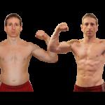 تناسب اندام قبل و بعد شماره 63 دکتر فیت