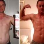 تناسب اندام قبل و بعد شماره 64 دکتر فیت