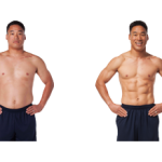 تناسب اندام قبل و بعد شماره 70 دکتر فیت