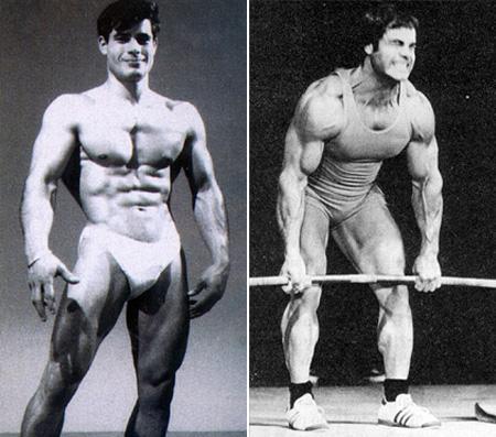 تصاویر قبل و بعد قهرمانی فرانکو کولومبو