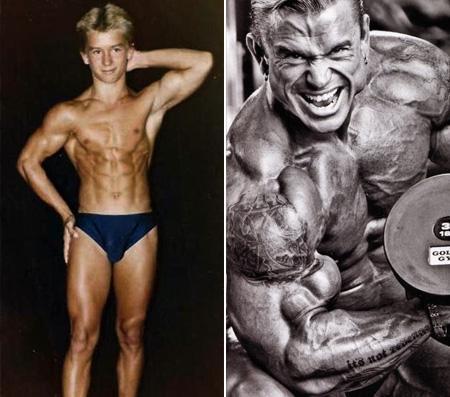 تصاویر قبل و بعد قهرمانی لی پریست