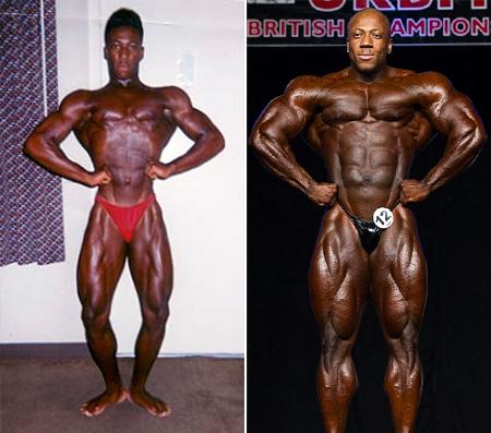 تصاویر قبل و بعد قهرمانی شون رودن