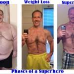 کاهش وزن قبل و بعد شماره 2 دکتر فیت