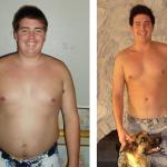 کاهش وزن قبل و بعد شماره 22 دکتر فیت