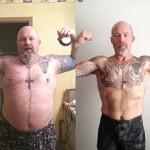 کاهش وزن قبل و بعد شماره 25 دکتر فیت