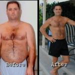 کاهش وزن قبل و بعد شماره 34 دکتر فیت