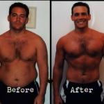 کاهش وزن قبل و بعد شماره 35 دکتر فیت