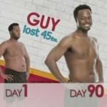 کاهش وزن قبل و بعد شماره 37 دکتر فیت