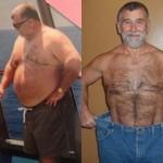 کاهش وزن قبل و بعد شماره 4 دکتر فیت