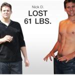 کاهش وزن قبل و بعد شماره 41 دکتر فیت