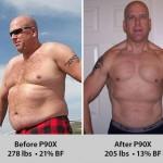 کاهش وزن قبل و بعد شماره 42 دکتر فیت
