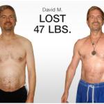 کاهش وزن قبل و بعد شماره 46 دکتر فیت