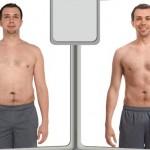 کاهش وزن قبل و بعد شماره 57 دکتر فیت