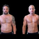 کاهش وزن قبل و بعد شماره 64 دکتر فیت
