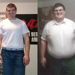 کاهش وزن قبل و بعد شماره 8 دکتر فیت