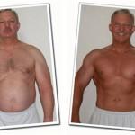 کاهش وزن قبل و بعد شماره 9 دکتر فیت