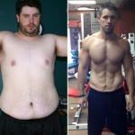 تناسب اندام قبل و بعد شماره 16 دکتر فیت