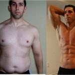 تناسب اندام قبل و بعد شماره 18 دکتر فیت