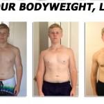 تناسب اندام قبل و بعد شماره 19 دکتر فیت