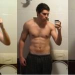 تناسب اندام قبل و بعد شماره 20 دکتر فیت