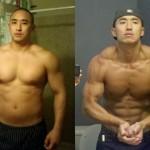 تناسب اندام قبل و بعد شماره 21 دکتر فیت