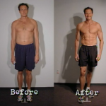 تناسب اندام قبل و بعد شماره 28 دکتر فیت