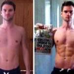 تناسب اندام قبل و بعد شماره 54 دکتر فیت