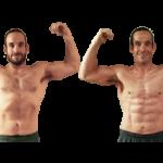 تناسب اندام قبل و بعد شماره 61 دکتر فیت