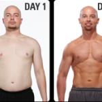 تناسب اندام قبل و بعد شماره 65 دکتر فیت