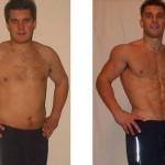 تناسب اندام قبل و بعد شماره 73 دکتر فیت