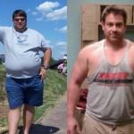 کاهش وزن قبل و بعد شماره 18 دکتر فیت