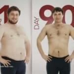 کاهش وزن قبل و بعد شماره 23 دکتر فیت