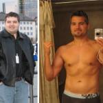 کاهش وزن قبل و بعد شماره 24 دکتر فیت