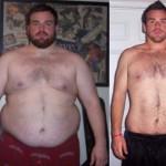 کاهش وزن قبل و بعد شماره 3 دکتر فیت