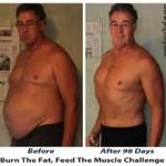 کاهش وزن قبل و بعد شماره 31 دکتر فیت