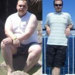 کاهش وزن قبل و بعد شماره 36 دکتر فیت