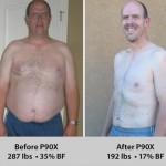 کاهش وزن قبل و بعد شماره 43 دکتر فیت
