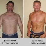 کاهش وزن قبل و بعد شماره 44 دکتر فیت