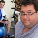 کاهش وزن قبل و بعد شماره 5 دکتر فیت